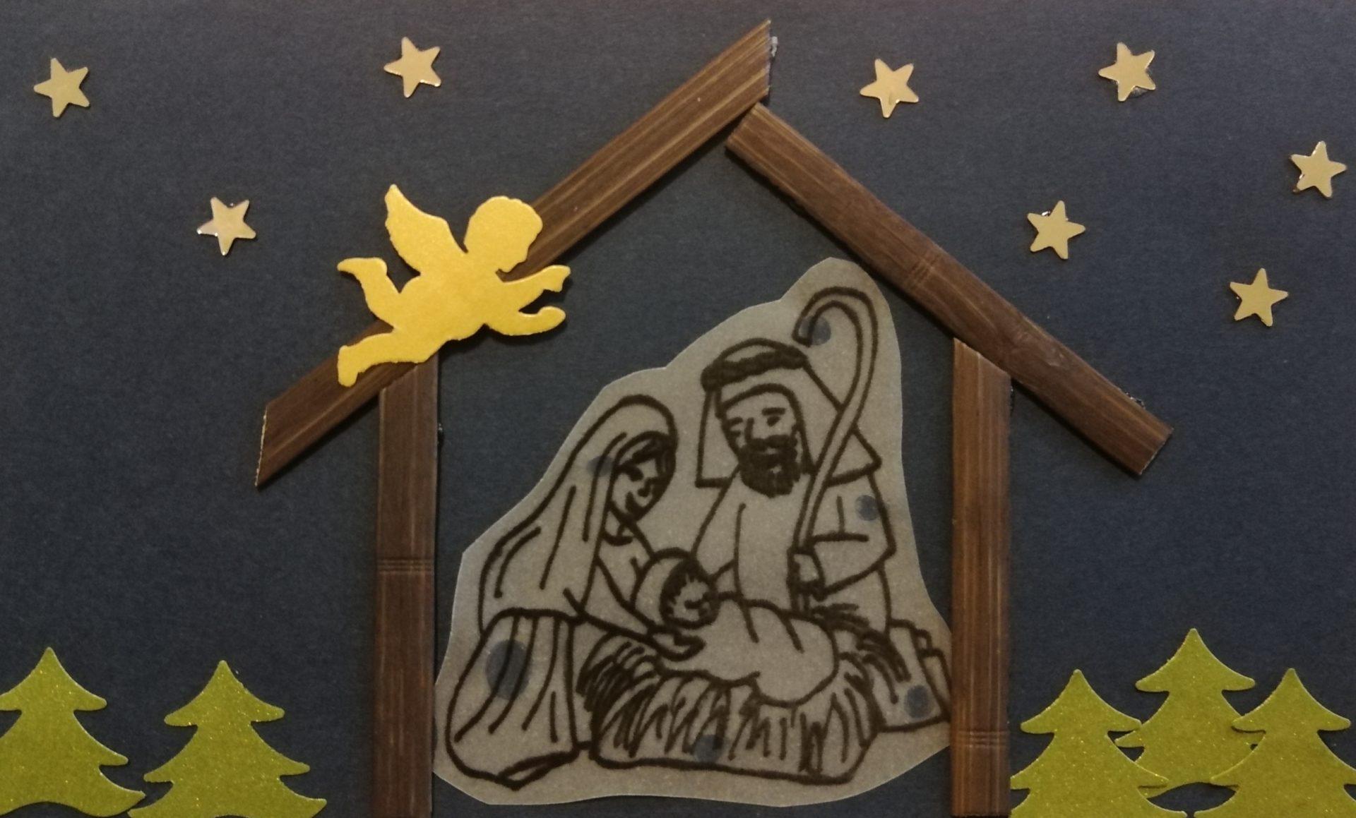 """Єпархіяльний пластичний конкурс різдвяної картки """"Христос Рождається"""""""