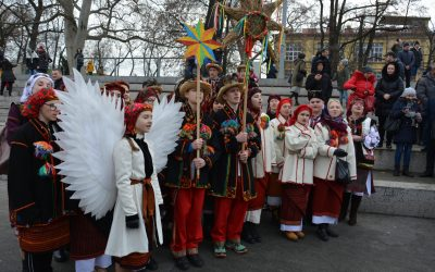 Гурти «Орфей» та «Сварга» з Коломиї колядували у Вроцлаві