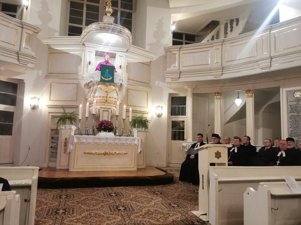 Владика Володимр на завершенні вроцлавського тижня молитов про єдність