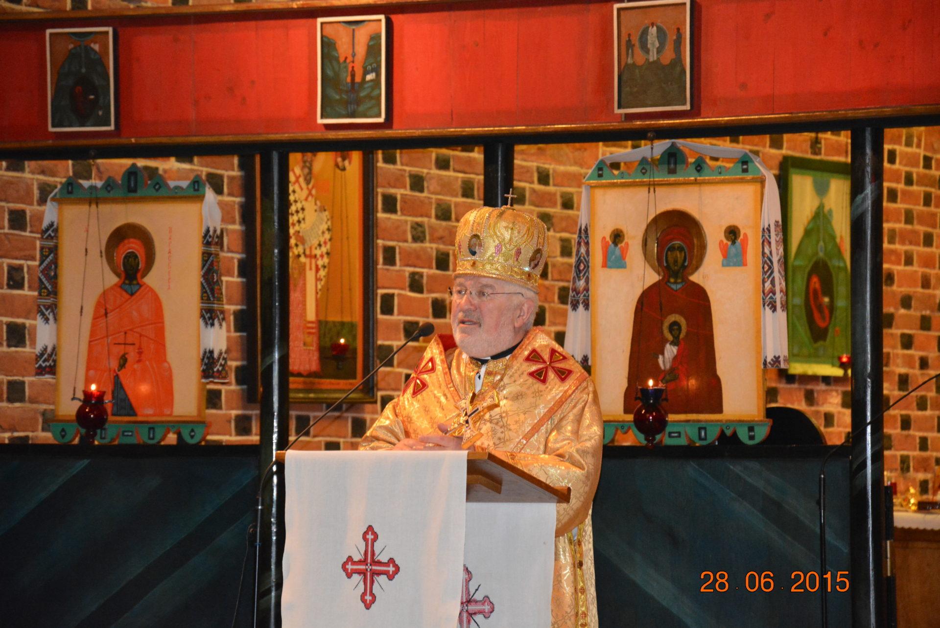 Ювілей єпископської хіротонії вл. Петра Крика