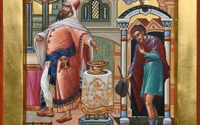 9 ЛЮТОГО – НЕДІЛЯ МИТАРЯ І ФАРИСЕЯ.