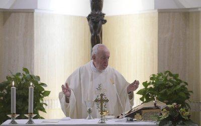 Papież: chrześcijanin musi być pełen radości, a nie formalizmu
