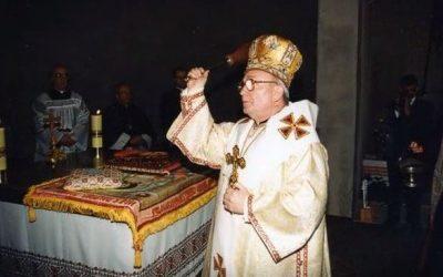 Biskup Teodor Majkowicz pierwszy eparcha Grekokatolickiej Eparchii Wrocławsko-Gdańskiej