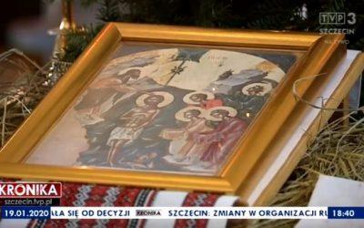 Święto Jordanu w koszalińskiej cerkwi grekokatolickiej