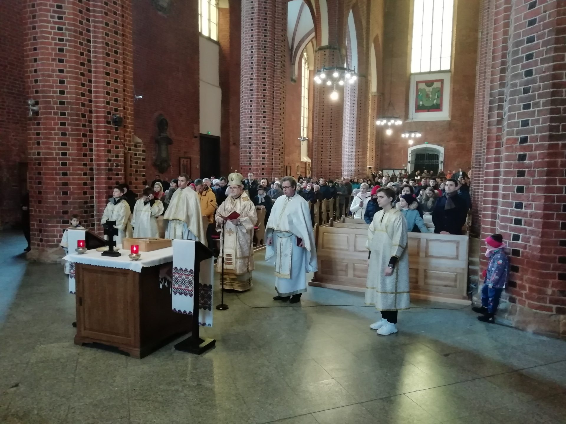 Панахида за жертви війни в Україні у вроцлавському соборі