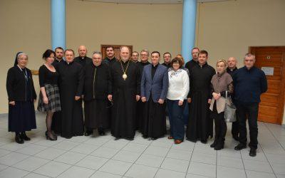 Білий Бір: Зустріч членів Єпархіальної Душпастирскої Ради з північних деканатів