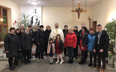 Перша Божественна Літургія в Сьроді Велькопольскій