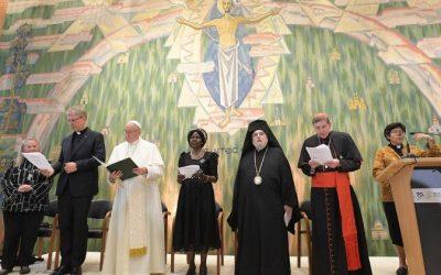 Папа про шлях до єдності: з вдячністю за минуле та з вірою у майбутнє