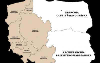 Новий поділ деканатів Вроцлавсько-Кошалінської Єпархії та призначення нових деканів