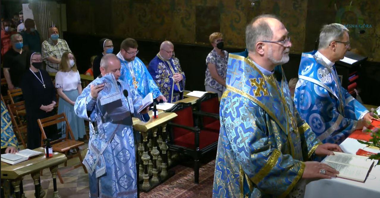 Проща на Ясну Гору – Трансляція Божественної Літургії