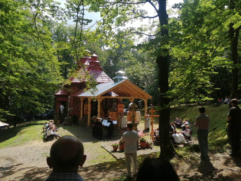 Греко-католицька проща на Святу Гору Явір (16 липня 2021)
