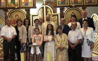 Урочистості в Парафії Святих Володимира та Ольги в М'ястку
