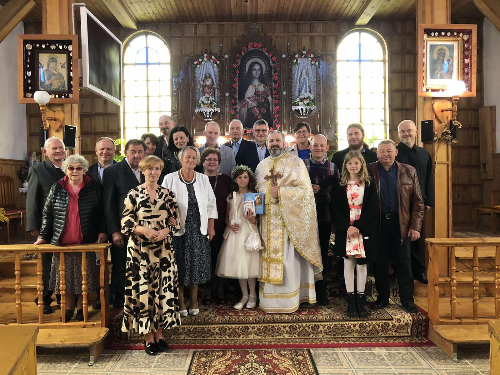 Урочистості в Парафії Святої Тереси від Дитятка Ісус в Джевянах
