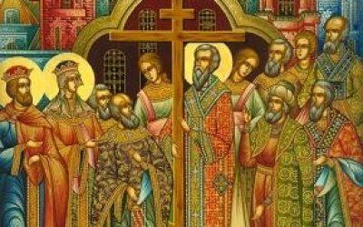 27 ВЕРЕСНЯ / 14 ВЕРЕСНЯ – ВОЗДВИЖЕННЯ ЧЕСНОГО ХРЕСТА. (СТРОГИЙ ПІСТ)