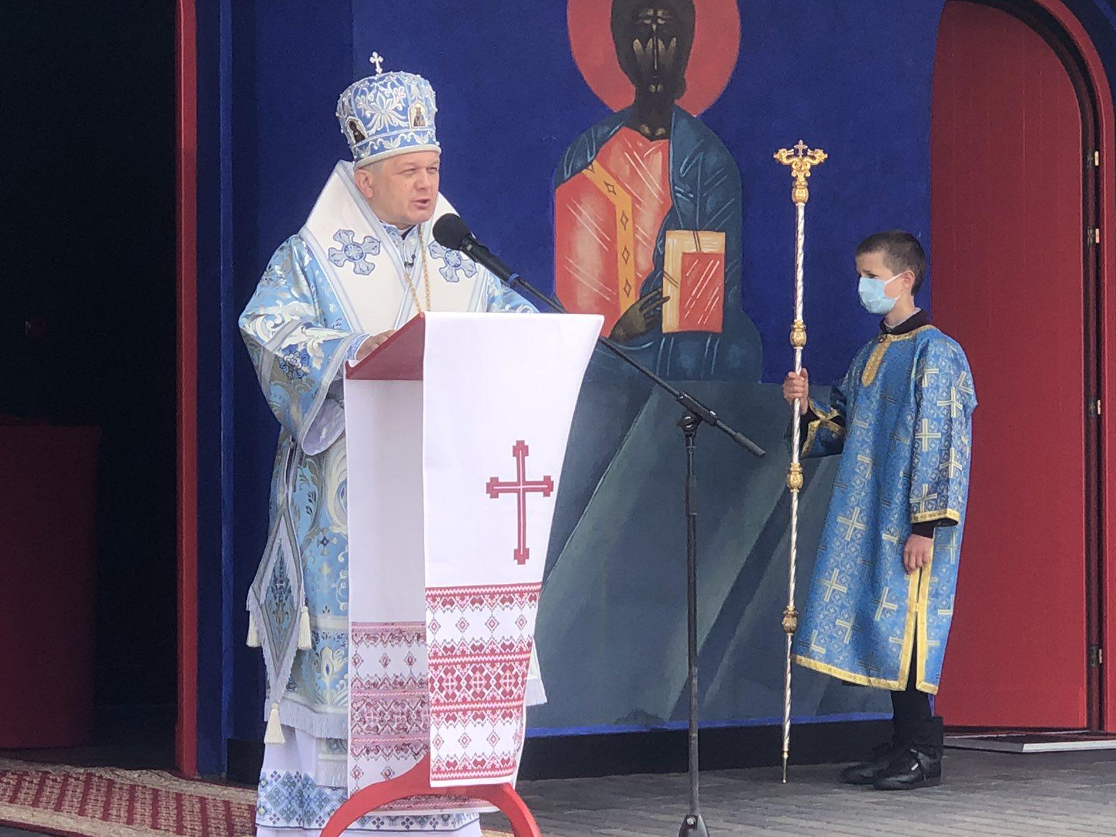 Проповідь Владики Аркадія у Празник Різдва Пресвятої Богородиці в Білому Борі (19.09.2021)