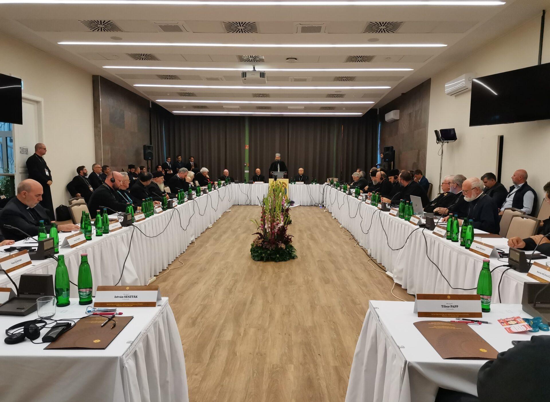 Блаженніший Святослав з єпископами УГКЦ бере участь у Зустрічі східних католицьких єпископів Європи