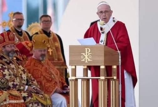 Papież do grekokatolików: Chrześcijaństwo bez krzyża jest bezowocne