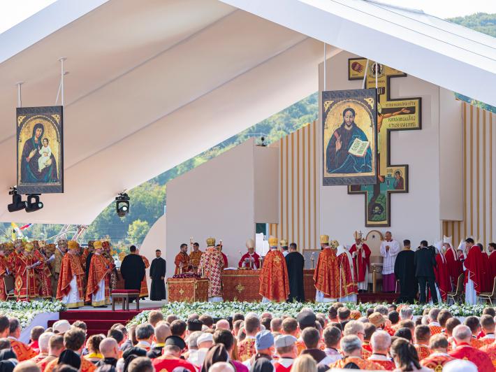Dziś papież odwiedził Preszów i Koszyce