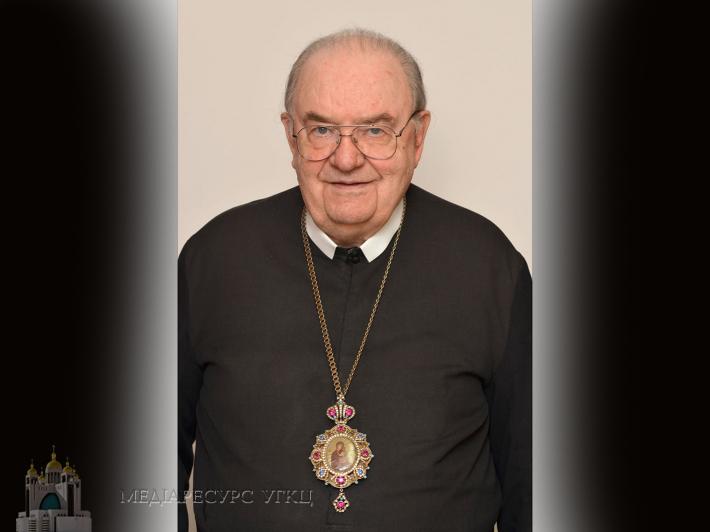 Блаженніший Святослав висловив співчуття з приводу смерті владики Северіана Якимишина (розпорядок похоронних богослужінь)