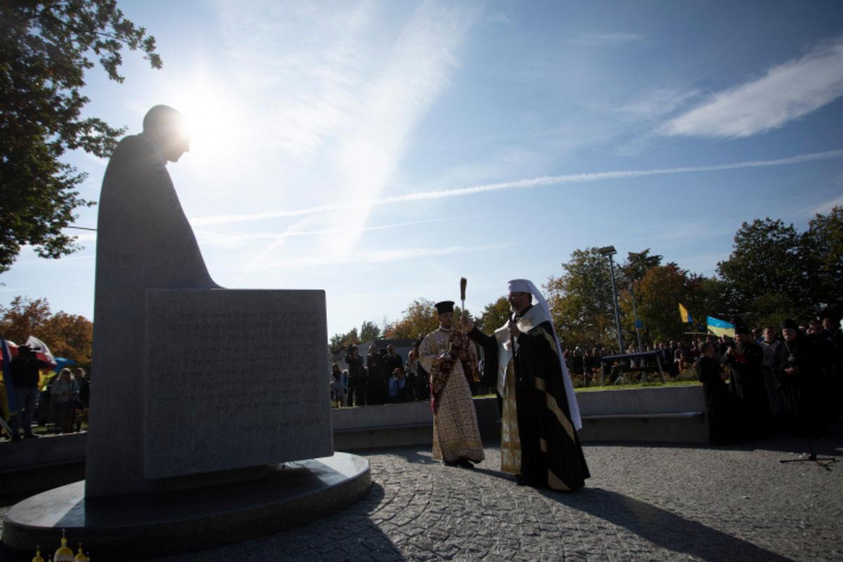 Блаженніший Святослав освятив пам'ятник блаженному Омеляну Ковчу в Любліні